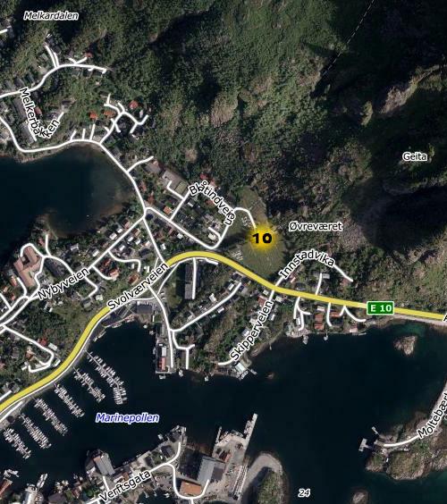 kart svolvær sentrum Kart Lyspunkter kart svolvær sentrum
